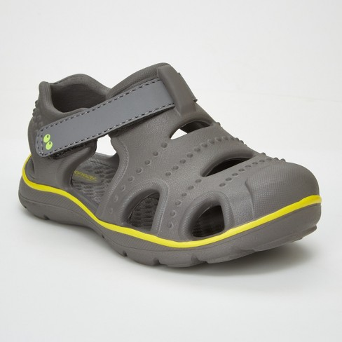 Toddler Boys' Surprize by Stride Rite Fargo Land & Water Shoes - Gray - image 1 of 4