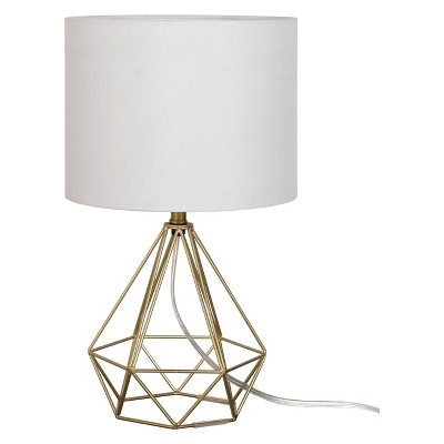 Geo Wire Lamp Brass (Includes Energy Efficient Light Bulb)- Project 62™