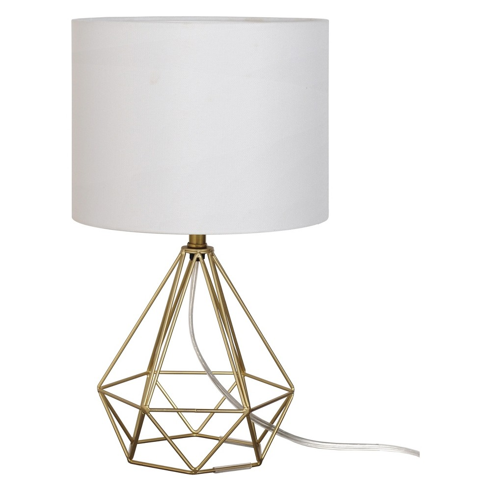 Geo Wire Lamp Brass (Includes Energy Efficient Light Bulb) - Project 62