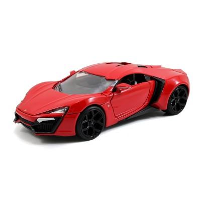 Jada Toys Fast & Furious W Motors Lykan HyperSport Die-Cast Vehicle 1:24 Scale Glossy Red