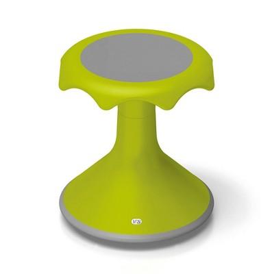 "VS America Hokki Stool Flexible Ergonomic Seating - 15"" Light Green"