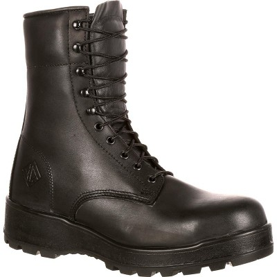 Lehigh Safety Shoes Men's Black Steel Toe Work Boot