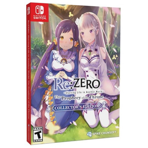 Re:ZERO: The Porphecy of the Throne Collector's Edition - Nintendo Switch - image 1 of 4