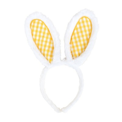 Bunny Easter Ears White and Yellow - Spritz™