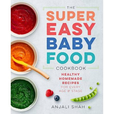Super Easy Baby Food Cookbook - by Anjali Shah (Paperback)