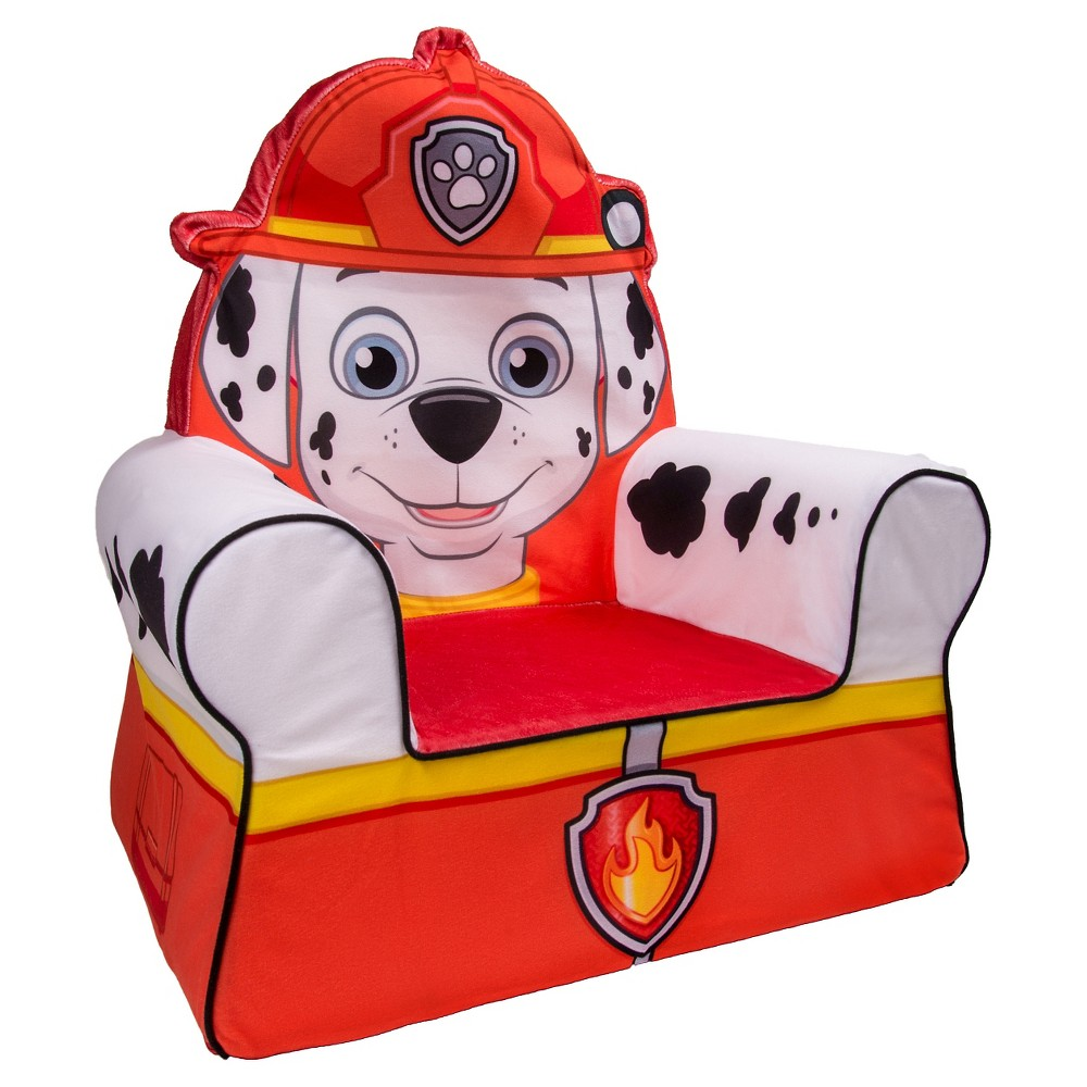 Marshmallow Comfy Chair Paw Patrol - Marshall, Fire Engine