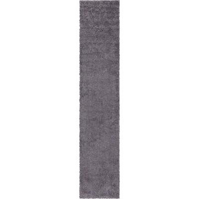 Davos Shag Rug Peppercorn - Unique Loom
