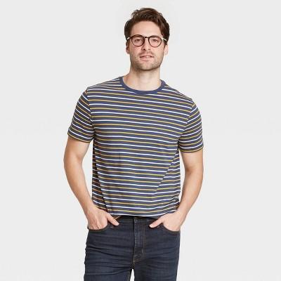 Men's Regular Fit Short Sleeve Crew Neck Novelty Jersey T-Shirt - Goodfellow & Co™