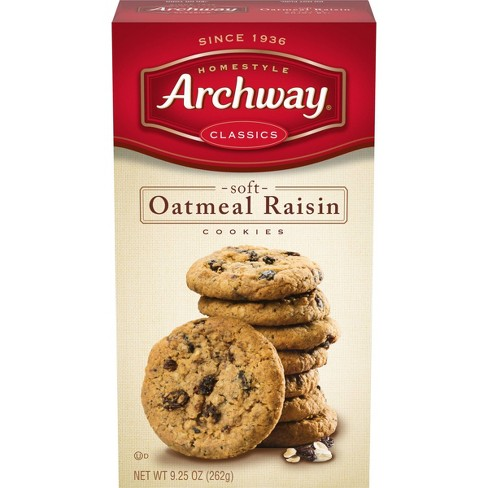 Homestyle Archway Classics Soft Oatmeal Raisin Cookies - 9.25oz - image 1 of 4