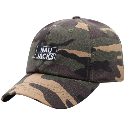 NCAA Northern Arizona Lumberjacks Men's Camo Washed Relaxed Fit Hat