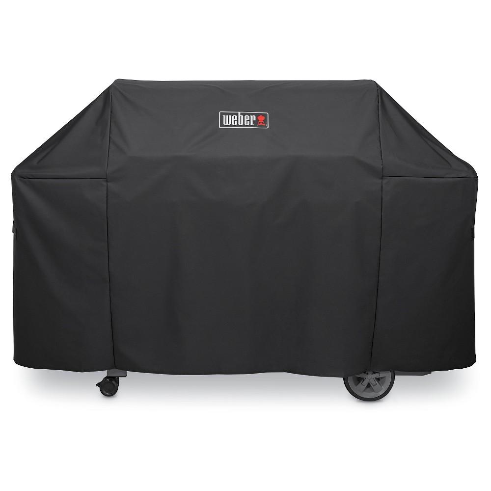 Weber Genesis II 6 Burner Premium Cover- Black