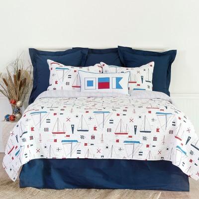 C&F Home Windward Port Mini Quilt Set