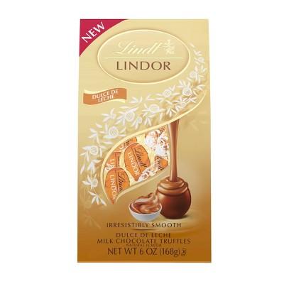 Lindt Lindor Dulche de Leche Milk Chocolate Truffles - 6oz