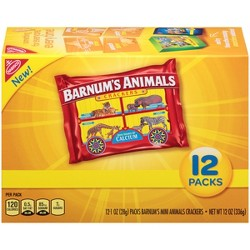 Barnums Animal Crackers Multipack - 12ct/1oz