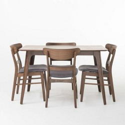 5pc Idalia Rectangular Dining Set - Christopher Knight Home