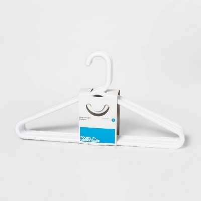 RE Super Heavyweight Plastic Hanger - 5 Pk - White - Room Essentials™