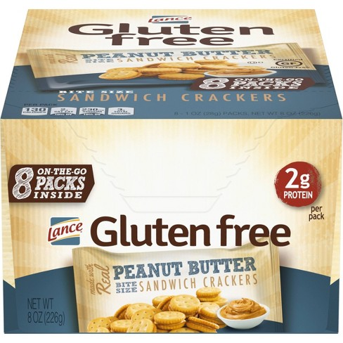 Lance Real Peanut Butter Sandwich Crackers - 8oz - image 1 of 4