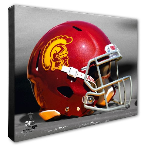 USC Trojans Helmet Canvas Wall Art - 16x20 inches - image 1 of 1