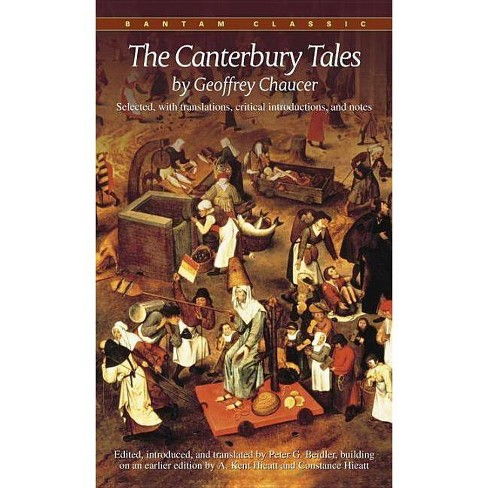 The Canterbury Tales - (Bantam Classics) by  Geoffrey Chaucer (Paperback) - image 1 of 1