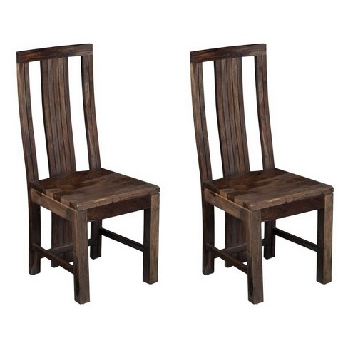 Christopher Knight Home Set Of 2 Grayson Sheesham Dining Chairs
