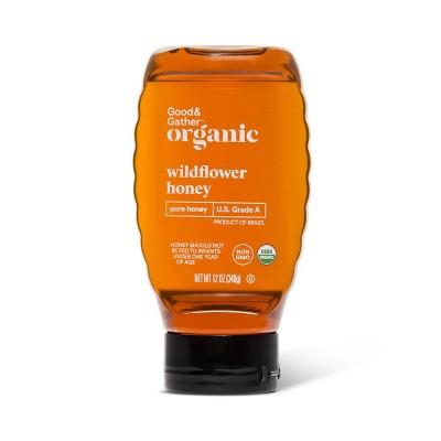 Organic Wildflower Pure Honey - 12oz - Good & Gather™