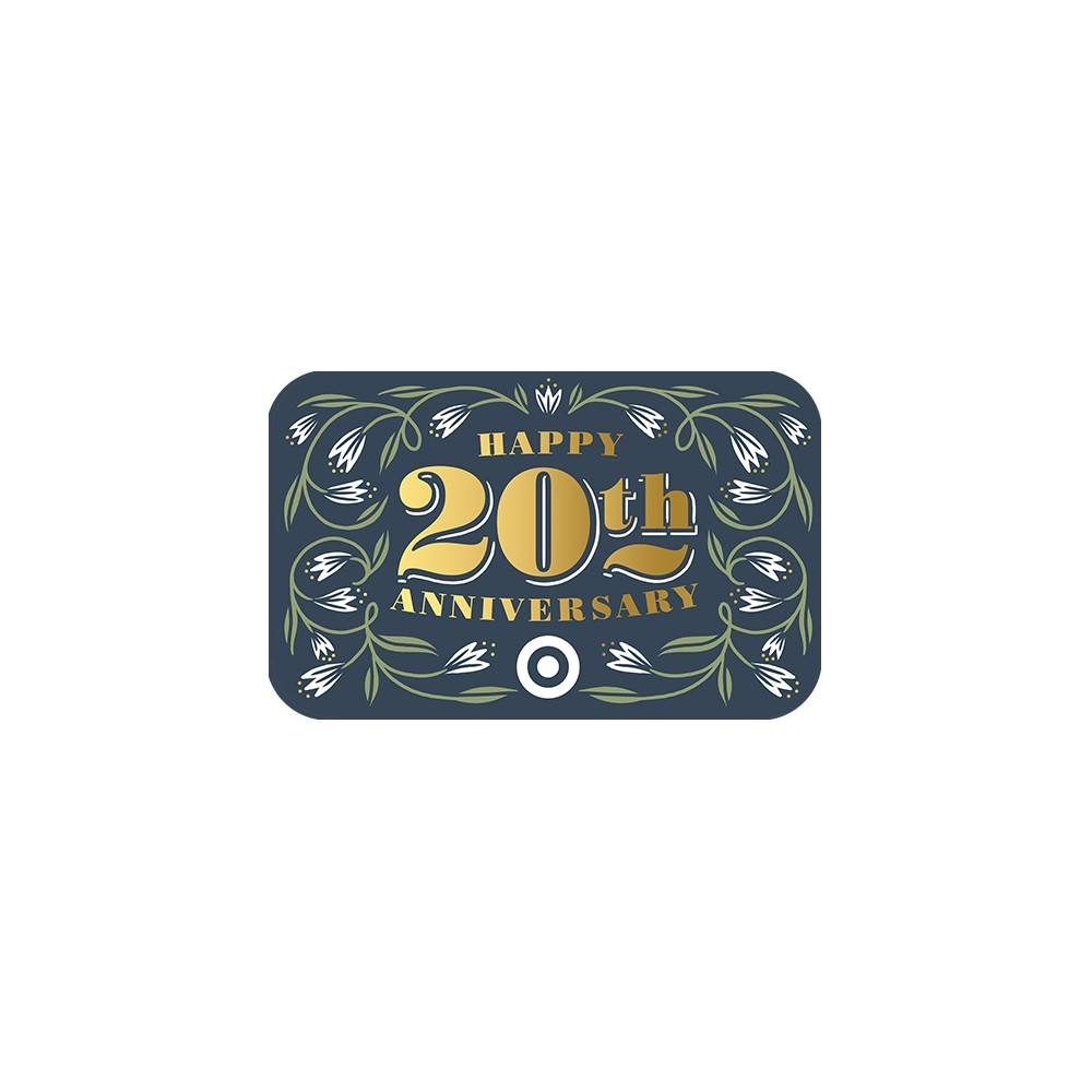 Happy 20th Anniversary GiftCard $10
