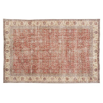 "6'10""x10' Vintage One-of-a-Kind Sighelm Rug Red - Revival Rugs"