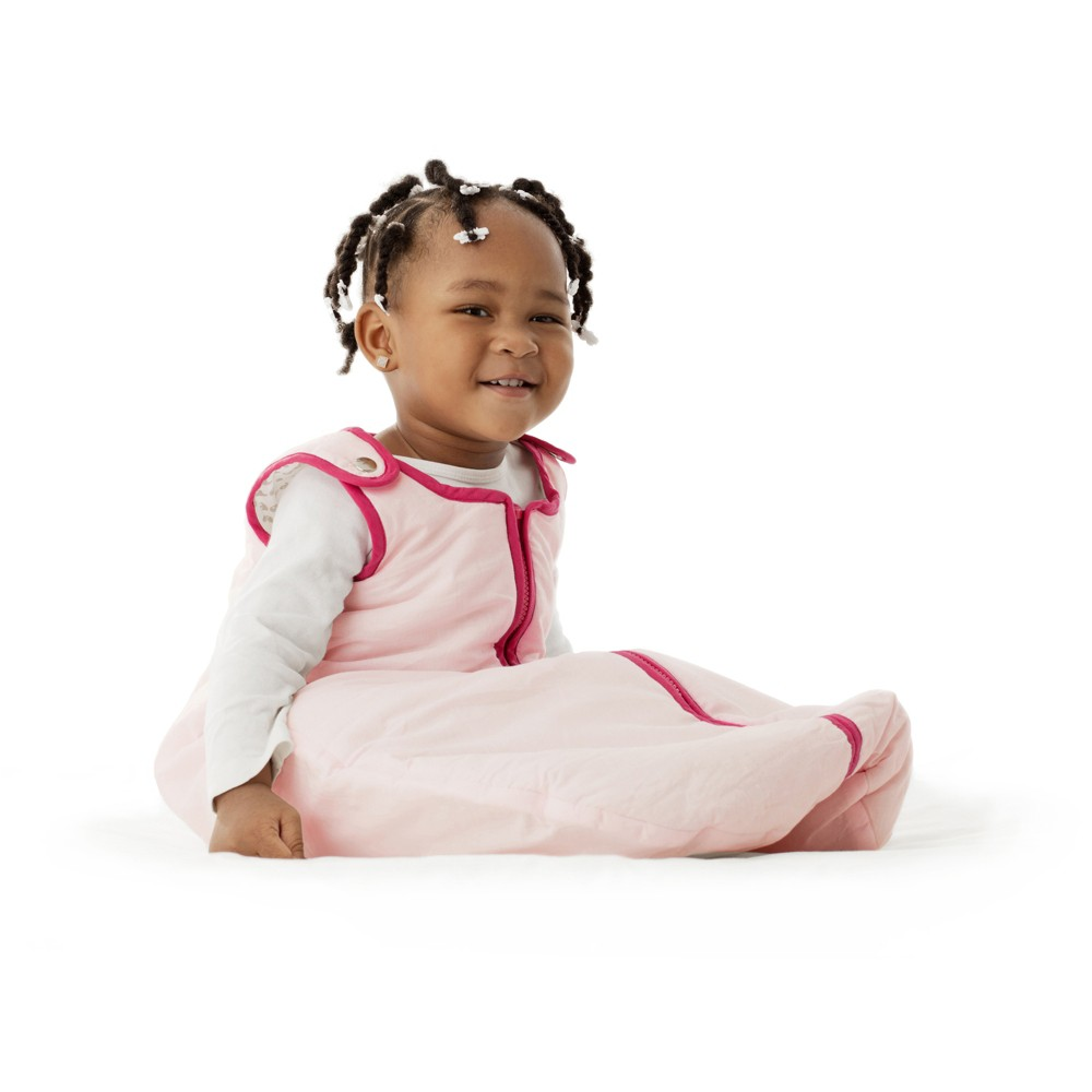 Image of baby deedee Sleep Nest Sweet Pink - L (18-36M), Infant Girl's, Size: Large, Light Pink/Pink