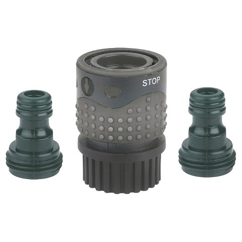 Gilmour® Hose End Quick Connector Set with Auto Shut-Off Valve - image 1 of 1