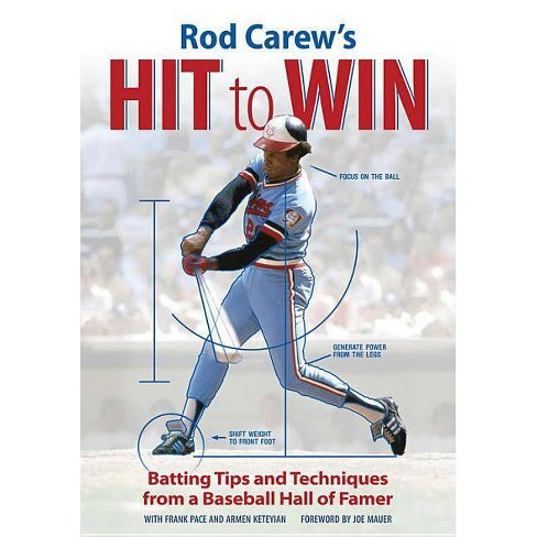 Rod Carew's Hit to Win - by  Rod Carew & Frank Pace & Armen Keteyian (Paperback) - image 1 of 1