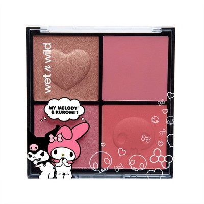 Wet n Wild Melody + Kuromi Blush Palette - 0.71oz
