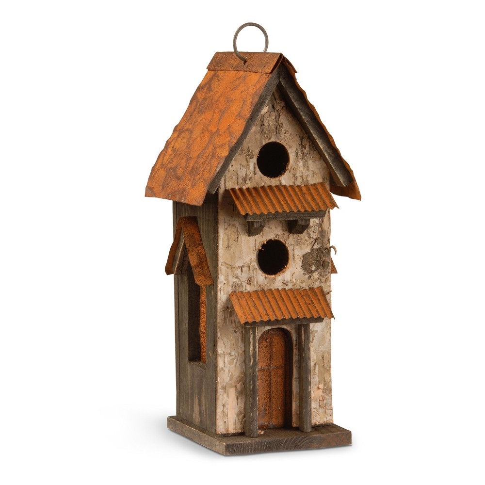 Birdhouse Brown 13 - National Tree Company