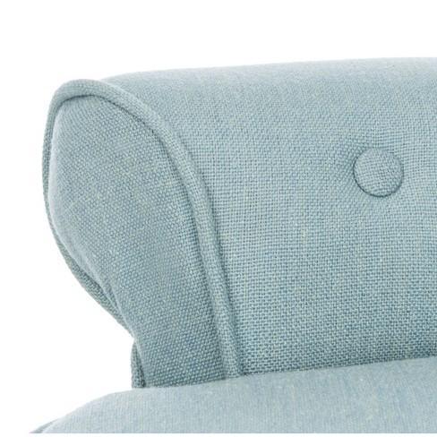 Incredible Accent Stools Blue Safavieh Target Machost Co Dining Chair Design Ideas Machostcouk
