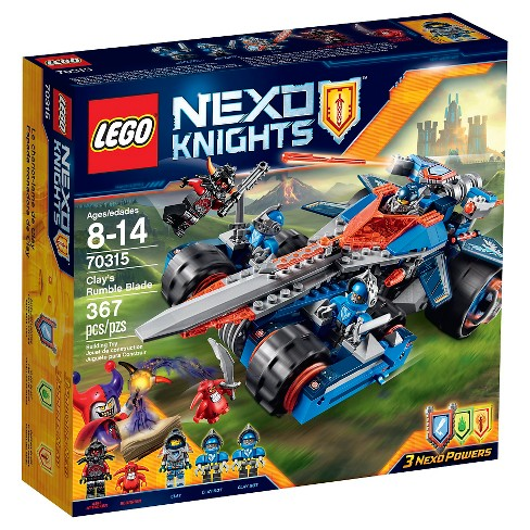 LEGO® Nexo Knights Clay's Rumble Blade 70315 - image 1 of 7
