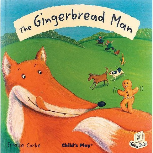 The Gingerbread Man - (Flip Up Fairy Tales) (Paperback) - image 1 of 1