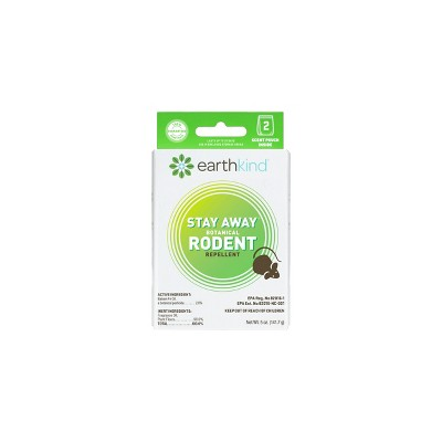 EarthKind Stay Away Rodent Repellant - 2pk