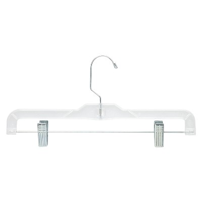 Skirt and Pant Hangers - Clear (12pk)