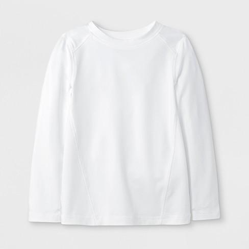 e2e3b7968b43 Toddler Boys' Long Sleeve Rash Guard - Cat & Jack™ White : Target
