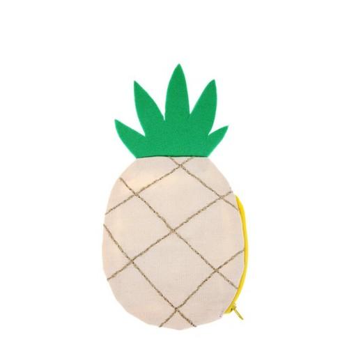 Meri Meri - Pineapple Pouch - Handbags - 1ct - image 1 of 1