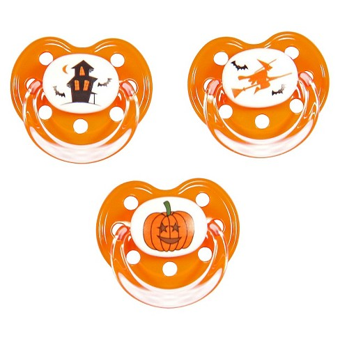MeaMagic Halloween Pacifier Set - image 1 of 1