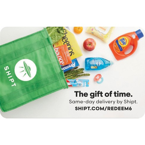 Shipt 6-Month Membership (Email Delivery)