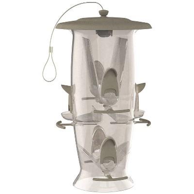 Droll Yankees Stokes Select Abundance Bird Feeder - Gray