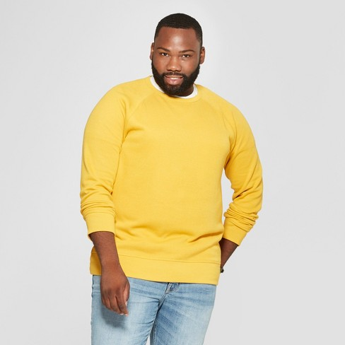 Men's Big & Tall Standard Fit Long Sleeve Waffle Thermal T-Shirt - Goodfellow & Co™ Squash 5XB - image 1 of 3