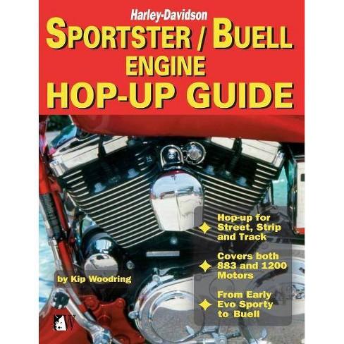 Sportster/Buell Engine Hop-Up Guide - (Biker Basics) by  Kip Woodring (Paperback) - image 1 of 1