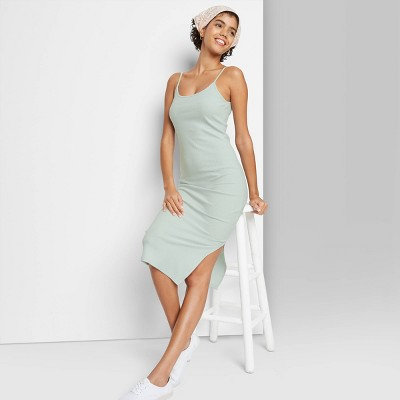 Women's Sleeveless Rib-Knit Dress - Wild Fable™