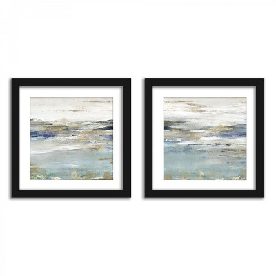 Americanflat Distant Landscapes - Set of 2 Framed Prints by PI Creative