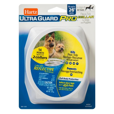 Hartz Ultra Guard Flea & Tick Reflective Dog Collar - 1.84oz