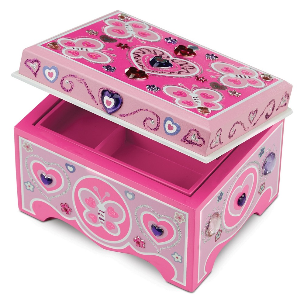 Melissa 38 Doug Jewelry Box