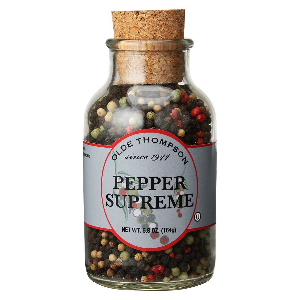 Image of Olde Thompson Pepper Supreme Cork Jar