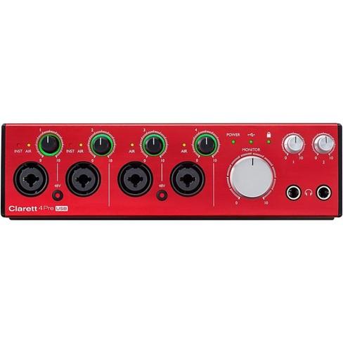 Focusrite Clarett 4Pre USB Audio Interface - image 1 of 4